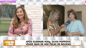 """Após perder 40kg, Silvia Poppovic comenta mudança: """"Foi um investimento"""""""