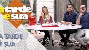 A Tarde é Sua (16/10/18) | Completo