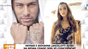 """Neymar está """"colocando fogo"""" em suposto affair com Giovanna Lancellotti?"""