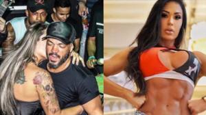 """Belo é agarrado em show e Gracy Barbosa dispara: """"Vou fazer a segurança"""""""