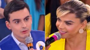 Dudu Camargo constrange Léo Áquilla com pergunta indiscreta