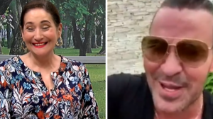 """Eduardo Costa para Sonia Abrão: """"Até que enfim me tirou da geladeira"""""""