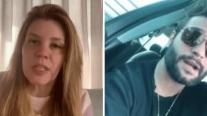 """Namorado de Simony fala sobre diferença de idade do casal: """"Bobeira"""""""