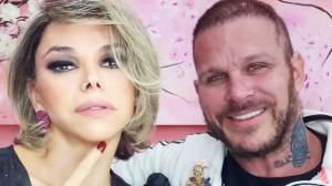 """Léo Áquilla revela que não gosta de beijar e marido diz: """"Não faz falta"""""""