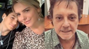 Ex de Fábio Jr, Mari Alexandre relata ausência do cantor como pai
