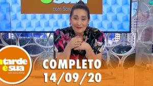 A Tarde é Sua (14/09/20)   Completo