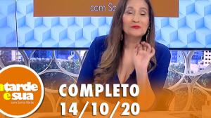 A Tarde é Sua (14/10/20) | Completo