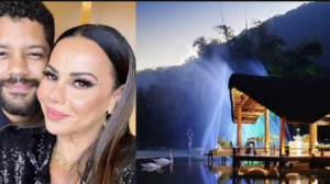 Viviane Araújo terá casamento com permutas e salão alugado por R$ 180 mil