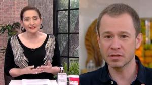 """Sonia Abrão sobre saída de Tiago Leifert de emissora: """"Acho que ele volta"""""""