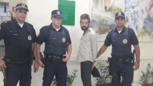 Vídeo mostra Sander, ex-Twister, deixando a delegacia