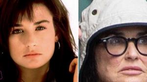 Veja as transformações da atriz Demi Moore ao longo de sua vida