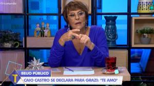 """Márcia Fernandes sobre Grazi Massafera e Caio Castro: """"Não vejo casamento"""""""