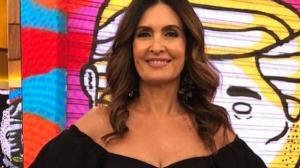 """Fátima Bernardes fala da suspensão de programa: """"Não é pra pânico"""""""