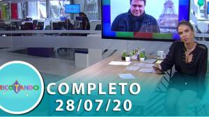 Tricotando (28/07/2020) | Completo