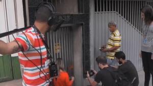 Confira os bastidores de um dia de grava��o de quadro do Voc� na TV