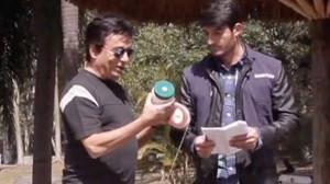 Nahim cai em pegadinha e fica furioso ao gravar falso comercial