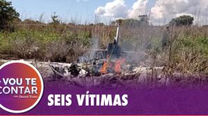 Fernando Fontana lamenta tragédia com avião do Palmas/TO