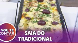 Receitas de Páscoa: bacalhau de forno e ovos recheados com mousse