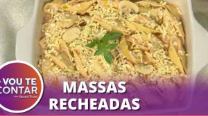 Receitas práticas e saborosas de conchiglione e canelone ao molho rosé