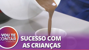 Receita de Chocolatada Cremosa com leite condensado e canela