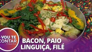 Receita de Cozido à Brasileira: mistura de carnes e legumes deliciosa