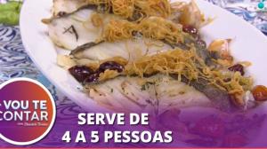 Bacalhau ao forno com arroz vermelho: receita de restaurante na sua casa!