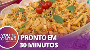"""Confira a receita do famoso """"Macarrão da Internet"""""""