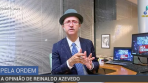 """Reinaldo Azevedo: """"O que vem pela frente é um cenário muito ruim"""""""