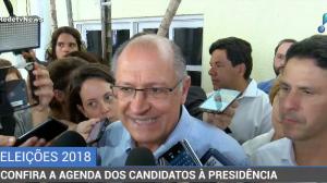 Em campanha no Recife, Geraldo Alckmin reforça seu compromisso com a Saúde