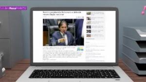 Políticos e autoridades do Judiciário felicitam Jair Bolsonaro