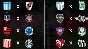 Sorteio da Libertadores coloca Corinthians e Palmeiras em possível quartas