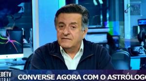 """""""Oportunidade para fazer reavaliação"""", diz astrólogo Valderson de Souza"""