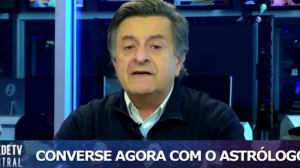 """""""Teremos seis meses de alegria"""", diz astrólogo Valderson de Souza"""