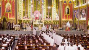 Missa de Natal dos Arautos do Evangelho na Basílica Nsa. Senhora do Rosário