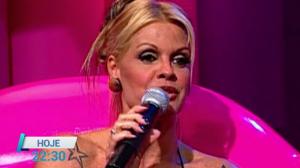 RedeTV! 20 Anos relembra Monique Evans no Noite Afora