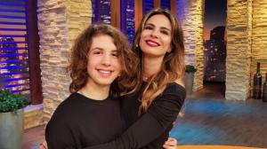 RedeTV! 20 Anos: Reveja Luciana Gimenez e Lucas Jagger no Luciana By Night