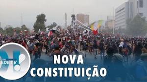 Um ano após protestos, chilenos aprovam Constituinte
