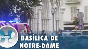 Ataque a faca deixa três mortos em igreja de Nice, na França
