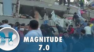 Terremoto no Mar Egeu deixa mortos e feridos na Turquia