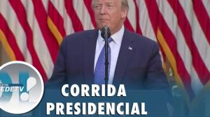 Eleições nos EUA: Trump diz acreditar em 'chance sólida de vencer'
