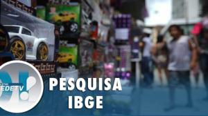 IBGE: vendas do comércio varejista crescem em 2020