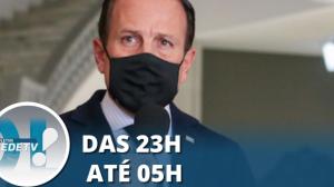Governo de São Paulo determina lockdown em todo o estado até 14 de março