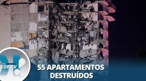 Equipes buscam desaparecidos em desabamento parcial de prédio em Miami