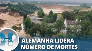 Europa: sobe número de vítimas em decorrência das fortes chuvas na região