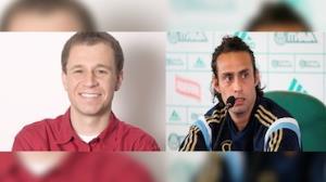 Tiago Leifert arruma briga com o jogador Valdivia