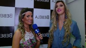Tatiele Polyana mostra tattoo e visual 'sequinho'