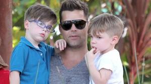 Ricky Martin anuncia que ser� pai de uma menina