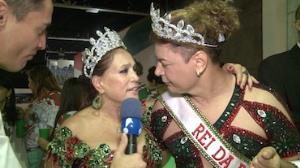 Susana Vieira � coroada rainha: 'Carnaval � um mundo encantado'