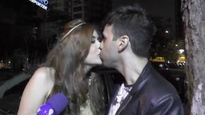 Vini Vieira � flagrado aos beijos com a ex-BBB Amanda