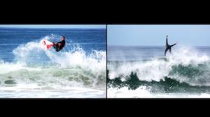 Vilhena e R�mulo Neto esfriam a cabe�a no surfe